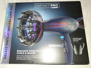 Infiniti PRO by Conair 1875 Watt Texture Styling Ionic Ceramic Hair Dryer