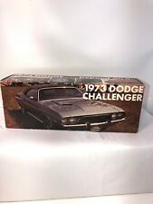 1973 Dodge Charger Lemon Twist Mpc Promo Model Box Only