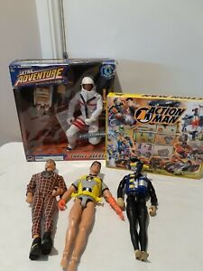 Vtg ACTION MAN Figures Collection