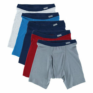 New Fruit of the Loom Men's EverSoft CoolZone Boxer Briefs (5 Pack)