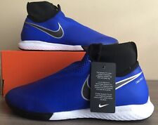 762859346 Nike Men s React Phantom Vision Pro DF IC Shoes Racer Blue black ...