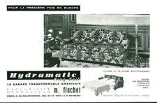 Publicité ancienne canapé américain Hydramatic 1959  issue de magazine