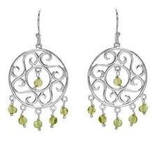 Peridot Chandelier Fine Earrings