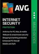 Latest- AVG Internet Security Unlimited Devices/ 1Yr - 2020-21- Digital Delivery