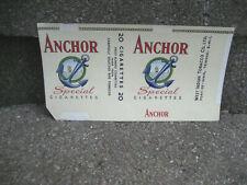 Vintage Anchor Cigarette Tobacco Packaging Wrapper