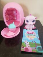 Cry Babies Pets Magic Tears Poppy Hippo Series 1 Opened but NEW!