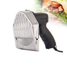 Electric Kebab Slicer Cutter Meat Doner Shawarma Gyros Cutting Machine 2 Blades