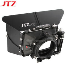 "JTZ DP30 4x4"" Matte Box Carbon Fiber 15mm/19mm For Sony RED Canon Panasonic"