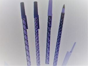 72 PURPLE AWARENESS Ribbon PENS alzheimers lupus domestic violence ADD cancer
