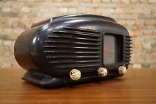 Vintage Röhrenradio TALISMAN 308 U Radio Bakelit Stream Line Design Art Deco