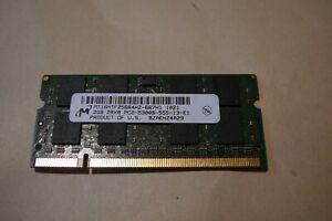 Micron 2GB  PC2-6400 laptop RAM memory MT16HTF25664HZ-667h1