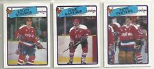 1988-89 O-PEE-CHEE Hockey Washinton Capitals 12-card Team Set  Pete Peeters