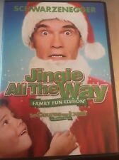 Jingle All the Way (DVD, 2008, Canadian Widescreen)  Schwarzenegger Family Fun
