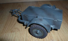 rare LINEOL german Luftwaffe closed accessory trailer - tin for 7 cm WWII