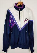Retrò Vintage 90s UMBRO SPORT BOLD tuta da ginnastica TOP giacca cappotto Shell Tuta Sport
