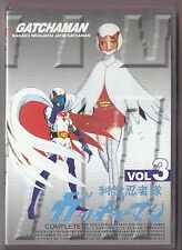 Gatchaman v. 3 DVD 21-30 HK Import Anime w/Eng subs Sentai Battle of the Planets