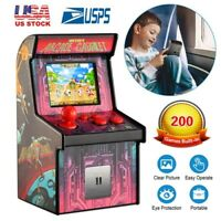200-Game Portable 16 Bit Retro Arcade Cabinet Tabletop Handheld Gaming System US