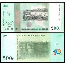 CONGO DEMOCRATIC REPUBLIC 500 Francs 2010 Commemorative UNC P 100