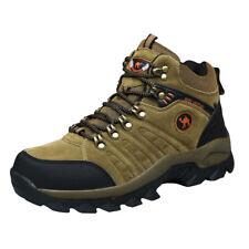 Men's walking sneakers travel casual comfort waterproof mid top hike shoes boots