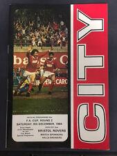 Bristol City v Bristol Rovers, FA Cup - Round 2, 8th December 1984