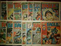 Eagle and Scream UK Magazine Comic Newspaper Vintage Lot of 14 1984-1985
