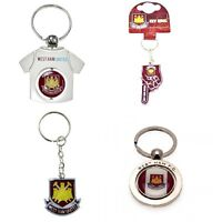 OFFICIAL WEST HAM FOOTBALL CLUB - KEYRINGS (Crest,Spinner,Metal KeyRing)