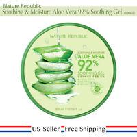 Nature Republic Soothing & Moisture Aloe Vera 92% Soothing Gel 300ml [US SELLER]
