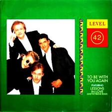 """12"""" - LEVEL 42 - TO BE WITH YOU AGAIN (UK POP FUNK) NUEVO OYELO - MINT LISTEN"""
