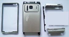 Full Silver fascia housing faceplate cover facia case for Nokia N8