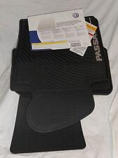 2009 TO 2013 VW Passat CC Rubber Floor Mats - Factory OEM Accessories - Set of 4