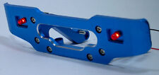 BLUE REAR BUMPER+RED LED LIGHT Fits HPI SAVAGE 21 25 SS