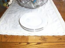 4 Lenox WISTERIA Bread Plates:NEW with Tags!