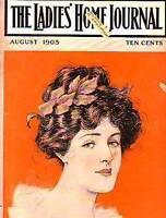 1903 Ladies Home Journal Aug - Mont Blanc;Leyendecker