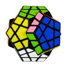 Shengshou Pentagon Shape Megaminx Speed Twisty 12-axis 3-layer Magic Cube US-CA