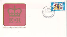 1981 Birthday of Her Majesty Queen Elizabeth II FDC - West Ryde NSW 2114 PMK