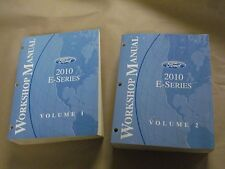 2010 Ford E Series Workshop Service Manual Volume 1 & 2 Factory Book