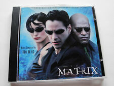 Don Davis THE MATRIX Soundtrack CD OOP