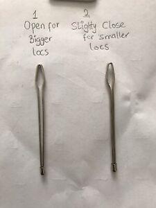 2 x Locs tool Needle Large Eye For re-tighten locs. Dreadlock / Dreadlocks Tool
