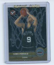 Tony Parker 2001-2002 01-02 Topps Pristine Rookie Card #109