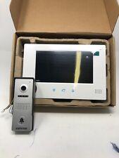 VANSOALL Video Door Phone Doorbell Wired Video Intercom System 7-inch Color(1-68