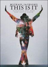 MICHAEL JACKSON'S THIS IS IT - The KING of POP Music Film (2 DVD SET) STEELBOOK