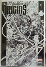 Ultimate Origins #1 1:75 Black & White Turner Wolverine Sketch Variant Marvel