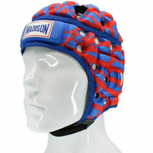 Madison Kalyn Ponga Air Flo Rugby NRL Football Headguard in Red/Blue