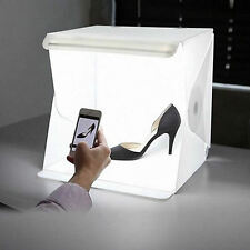 """Photo Studio 12"""" Light Room Photography Lighting Tent Kit Mini Backdrop Cube Box"""