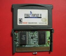 Gba Final Fantasy Iv 4 Rpg Game Boy Advance *Authentic & Saves*