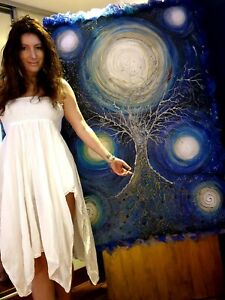 Luxurious painting - TREE OF LIFE'S