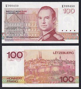 Lussemburgo 100 francs 1980 SUP/AU  C-10