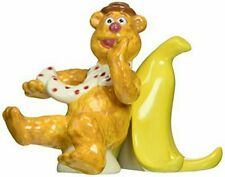 Westland Giftware Muppets Fozzie and Banana Ceramic Salt and Pepper Shakers NIB