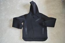 Alexander Wang x H&M Black Scuba Biker Hoody Hoodie Zip Jacket Mens Medium M