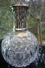 """ANTIQUE LAMPE BERGER CRYSTAL PARIS MADE IN FRANCE """" marked CRYSTAL """" 1910-1940"""